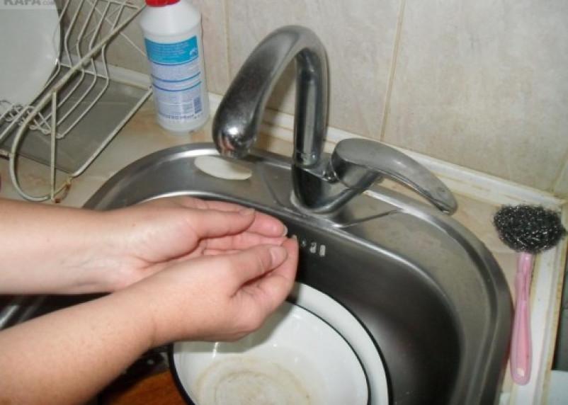 В Заднепровье отключат холодную воду