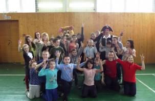 Волонтеры из Смоленска устроили праздник для слабовидящих детей