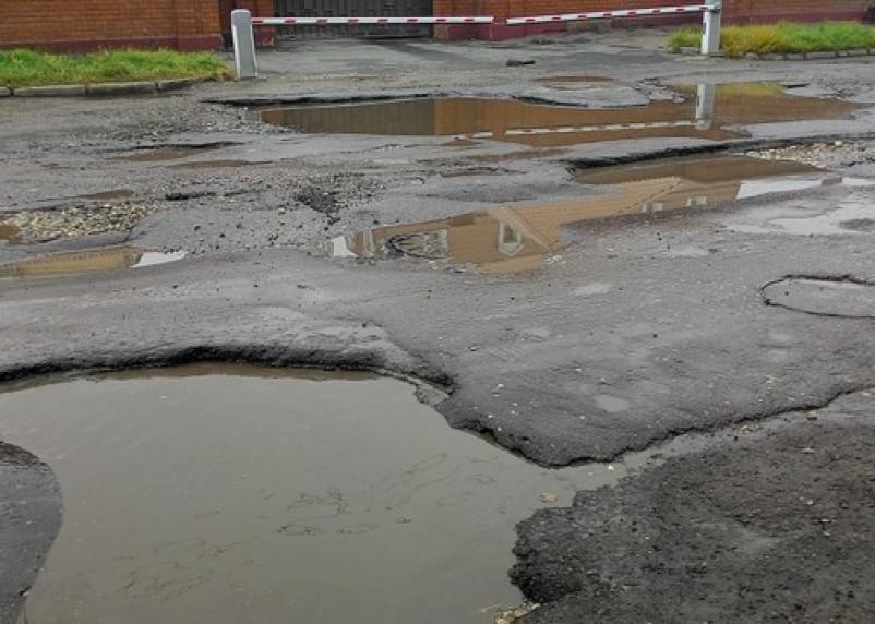 Администрация Смоленска не контролирует сохранность дорог