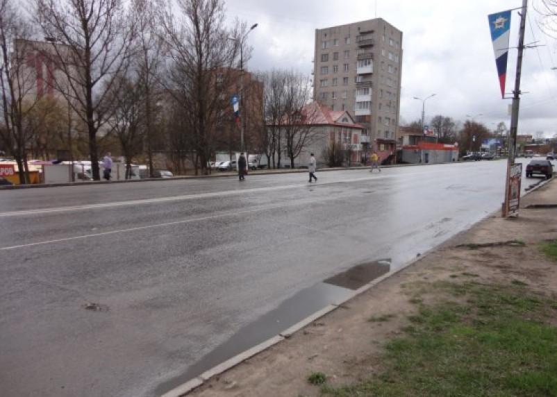 На улице Кутузова в Смоленске исчезли два пешеходных перехода