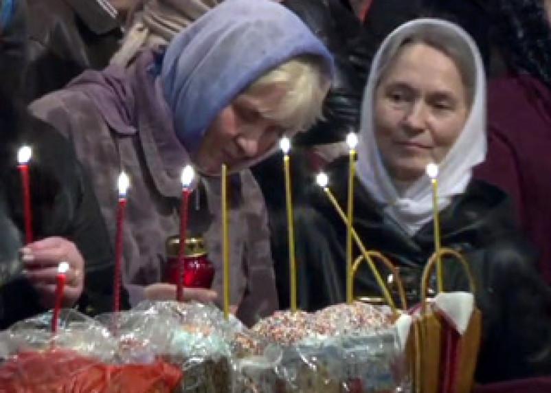 Верующие на Смоленщине отмечают Пасху