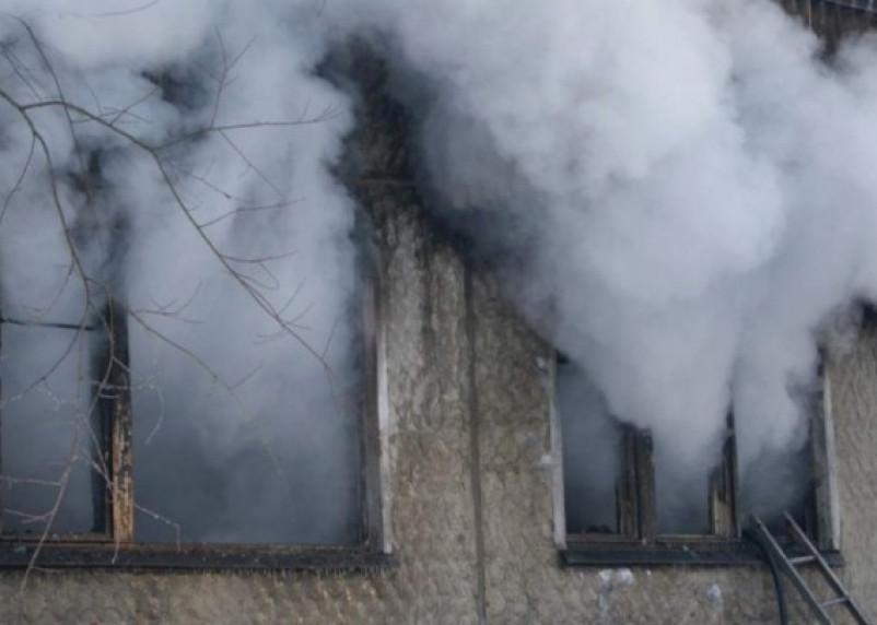 На улице Соколовского в Смоленске в пожаре погиб мужчина