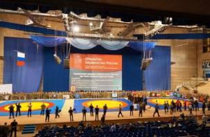 Смоляне приняли участие в первенстве России по рукопашному бою