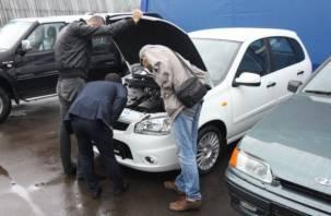 Сколько на Смоленщине московских авто с пробегом