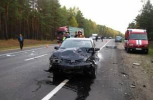 Три человека пострадали в ДТП в Починковском районе