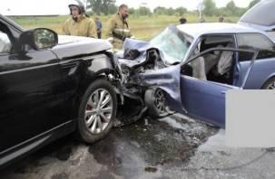 В Сафоновском районе произошло тройное ДТП
