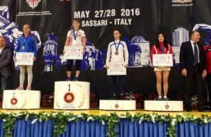 Смоленская студентка Надежда Соколова стала лучшей на международном турнире по женской борьбе