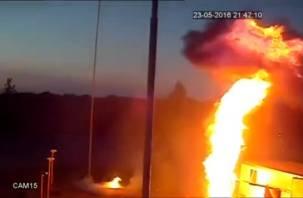 В Интернете появилось видео взрыва на АЗС, где погиб рабочий из Смоленска