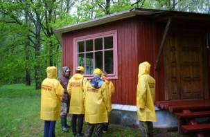 Волонтеры от «Справедливой России» помогли смоленскому национальному парку