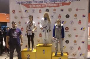 Юная смолянка стала чемпионкой России по грэпплингу