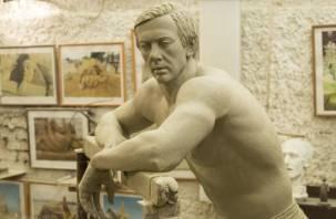 В Смоленске изготовили памятник олимпийскому чемпиону
