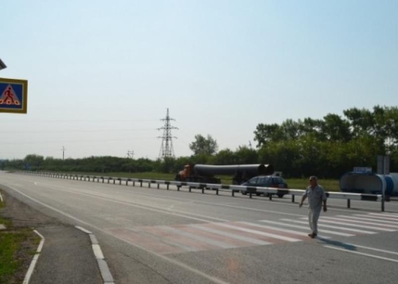 В Сафоновском районе водитель сбил пешехода