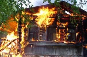 В Смоленской области сгорели два дома