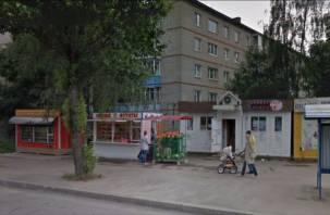 На улице Рыленкова в Смоленске снесут овощной ларек