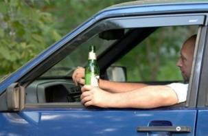 По Смоленщине разъезжали более полусотни пьяных водителей