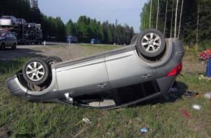 В Гагаринском районе в страшной аварии погибли два человека