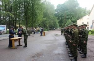В военном городке Шаталово прошла присяга курсантов