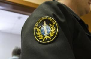 Смоленский судебный пристав попался на взятке
