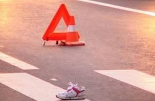 В Демидовском районе иномарка сбила подростка