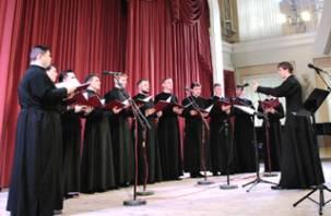 В филармонии прошел концерт мужского хора Смоленской семинарии