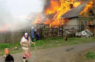 На Смоленщине стало меньше пожаров и погибших в них