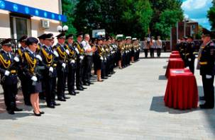 Новобранцы смоленской полиции приняли присягу