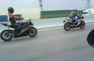 Два мотоциклиста попали в ДТП в Смоленском районе