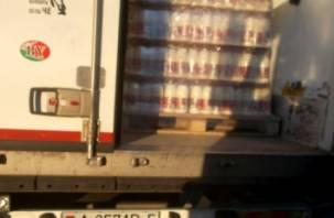 В Смоленск не пустили белорусское молоко