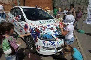 В Смоленске прошел праздник «Детский спорт – залог будущего»