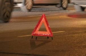 В Смоленске столкнулись три автомобиля