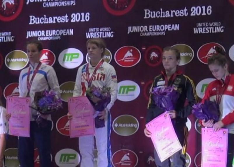 Смоленская студентка-вольница завоевала золото юниорского первенства Европы