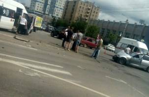 Стали известны подробности ДТП с маршруткой в Смоленске, в результате которого пострадали люди