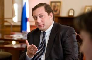 Смоленского губернатора определили в палату