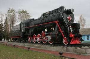 В Рославле вновь появится памятник-паровоз
