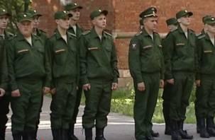 Сорок пять смоленских парней отправились в армию