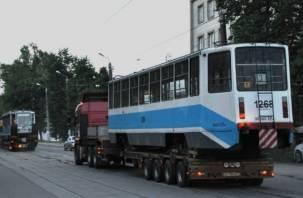 В Смоленск прибыла третья партия трамваев