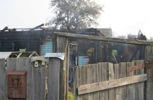 В Ярцеве пенсионер едва не сгорел в собственной квартире