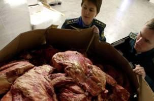 Белорусам не удалось провезти через Смоленск тухлое мясо