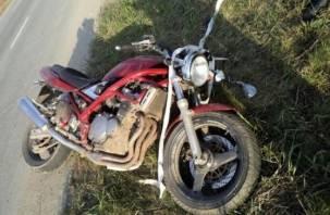 В Смоленской области в ДТП пострадали два мотоциклиста