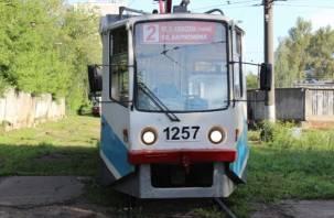 Вышедший на смоленские рельсы московский трамвай получил «двойку»