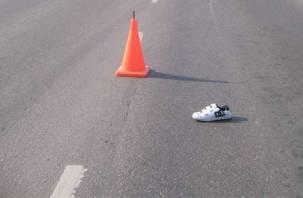 В Смоленском районе автомобиль «наехал» на женщину