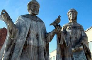 В Смоленске сделали памятник для Хабаровска