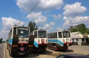 В Смоленск прибыли еще три трамвая из Москвы