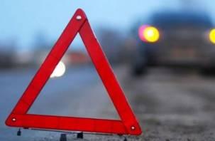 В Гагаринском районе столкнулись две легковушки