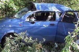 Под Дорогобужем по вине автоледи опрокинулся автомобиль с малышом