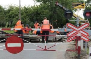 Переезд в Катыни будет закрыт для движения транспорта