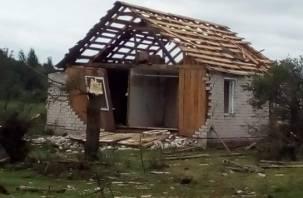 Последствия урагана в Рудне