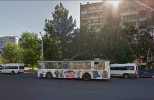 По улице Нормандия-Неман не будут ходить троллейбусы