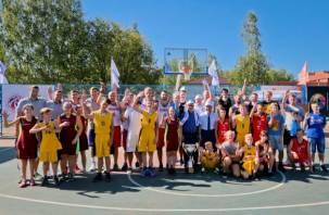 В Десногорске открылся уникальный баскетбольный стадион