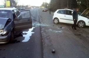 На Смоленской области в ДТП пострадал водитель